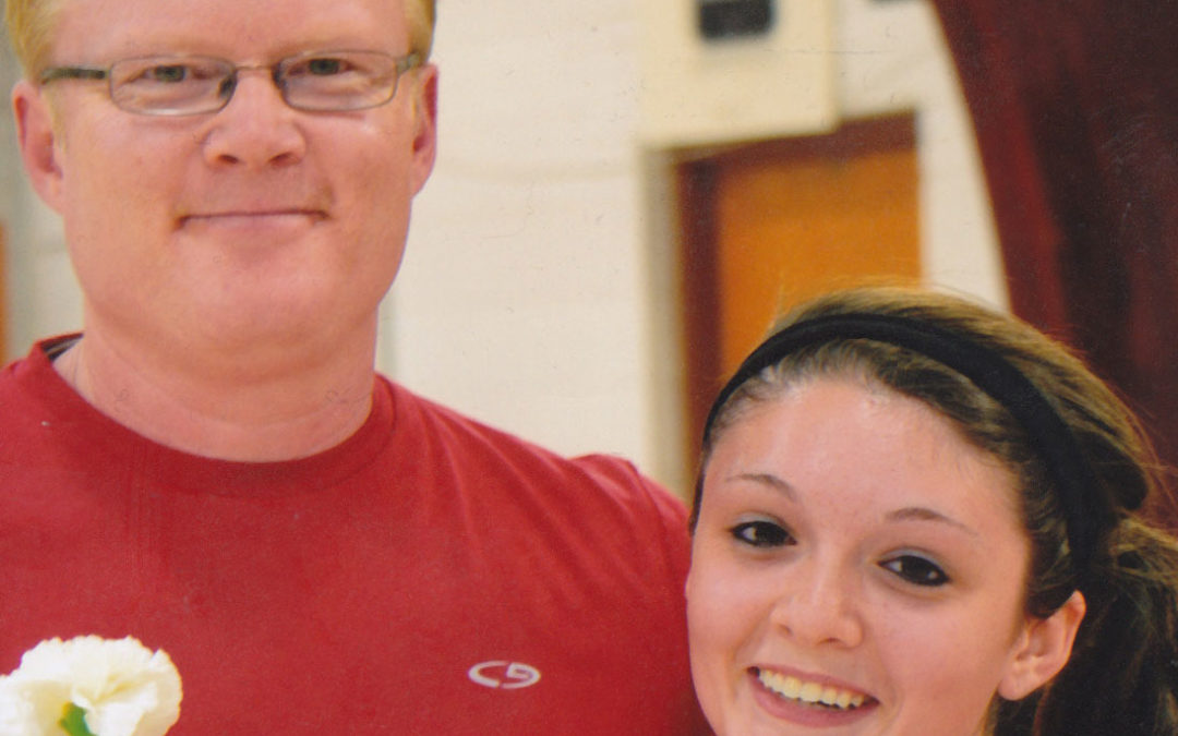 Volleyball Dad and volleyball player from about page on The Edge Pro Volleyball