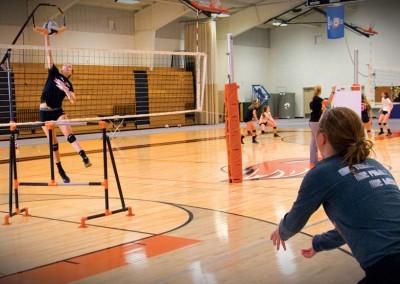 Practicing Hitting & Defense