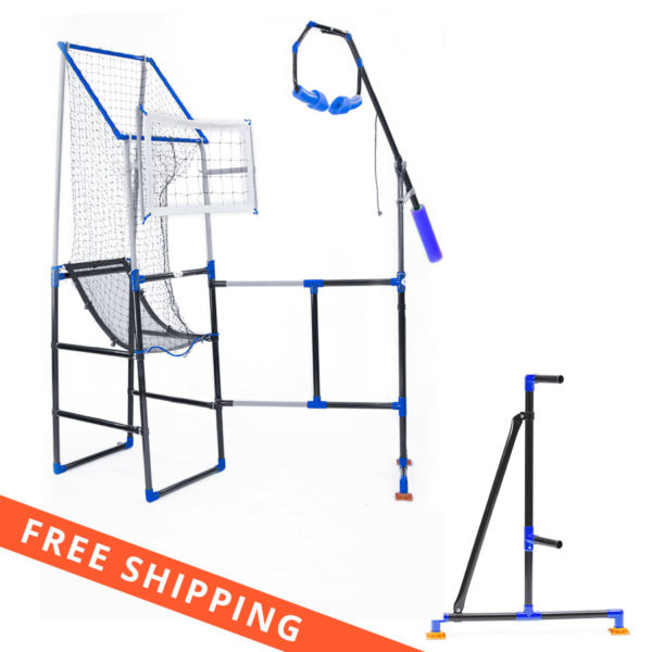 Spike Trainer for spike training, Setter Stand for Setter Training and passing-The Edge Pro Volleyball Trainers best deal, The Edge Dream Pack