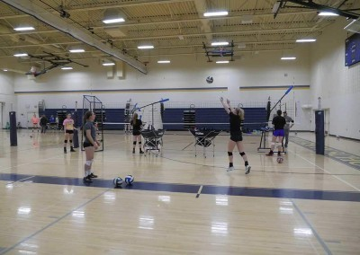 volleyball training with The Edge volleyball training equipment