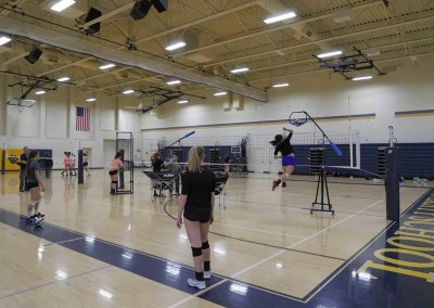 volleyball training equipment and volleyball drills with the edge pro volleyball trainer