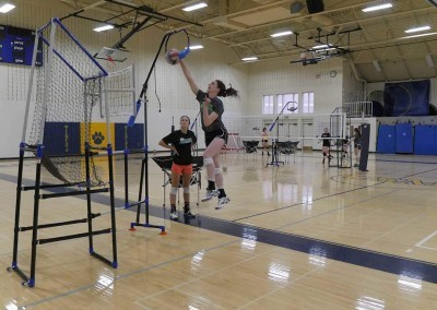 Volleyball Training equipment and how to spike a volleyball with the edge pro volleyball trainer