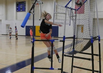 How to hit a volleyball with volleyball training equipment from the edge pro volleyball trainer