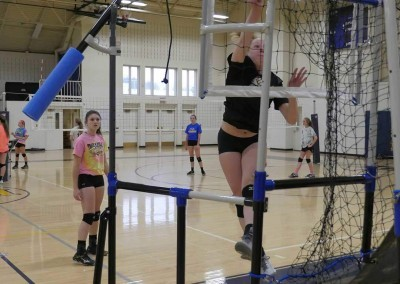 Volleyball Training Equipment. How to spike a volleyball with the edge pro volleyball trainer