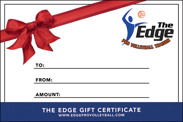 The Edge Gift Certificate