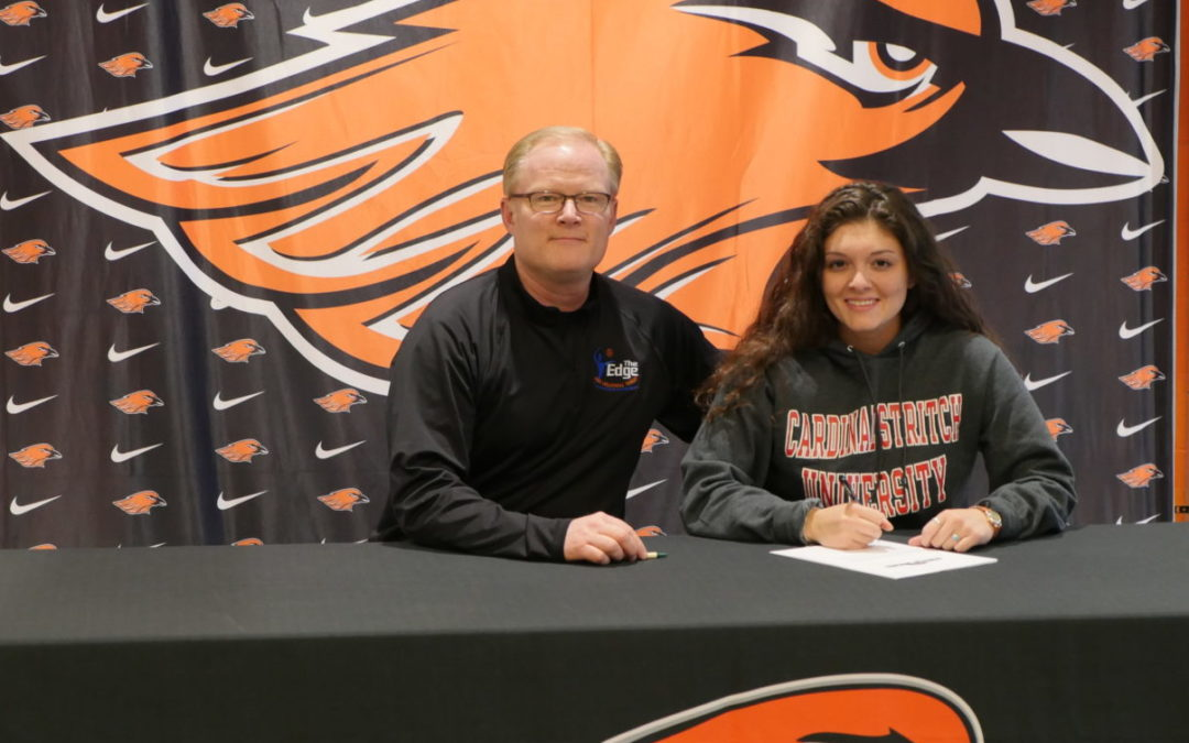 How my daughter got the edge to get a college volleyball scholarship.