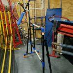 Volleyball Training Aid in Storage Locker